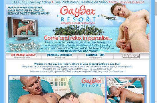 Gay Sex Resort