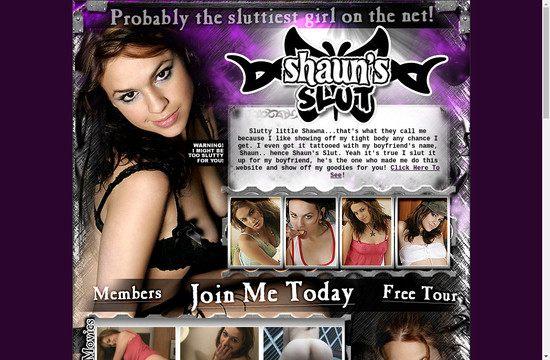 Shauns Slut