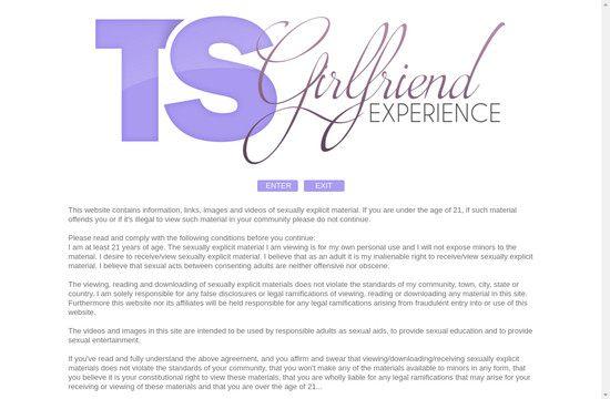 Ts Girlfriend Experience