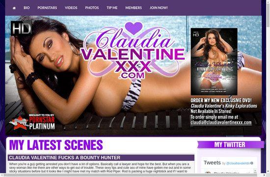 Claudia Valentine XXX