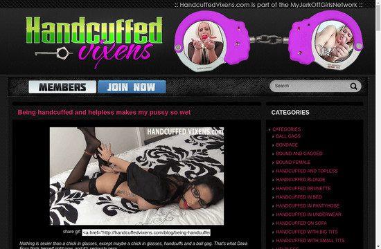 Handcuffed Vixens
