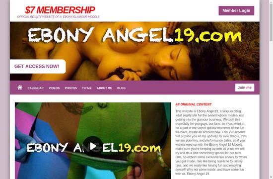 Ebony Angel 19