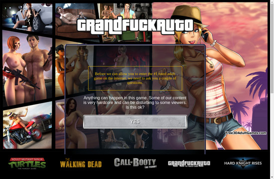 Free 3 D Adult Games