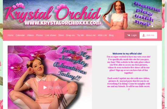 Krystal Orchid