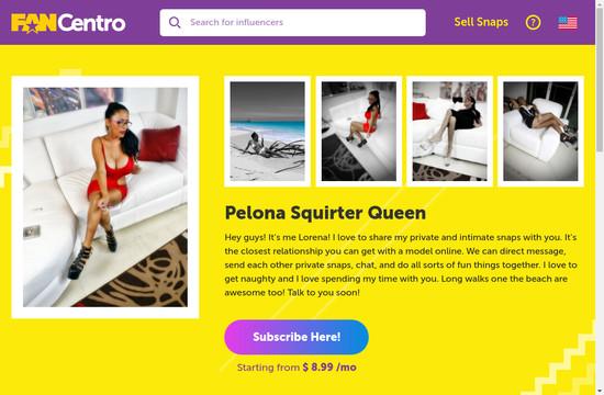 Pelona Squirter Queen