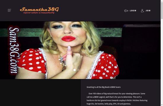 Samantha 38 G