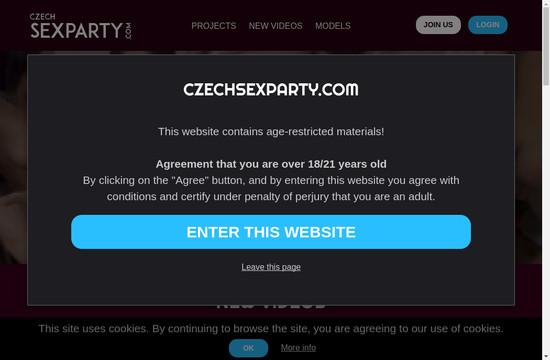 Czech Sex Party