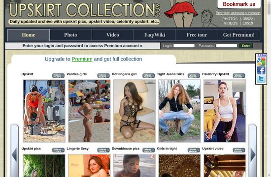 Upskirt Collection