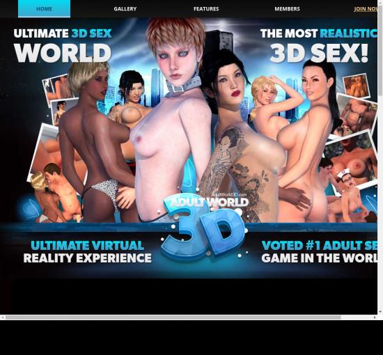 adult world 3 d