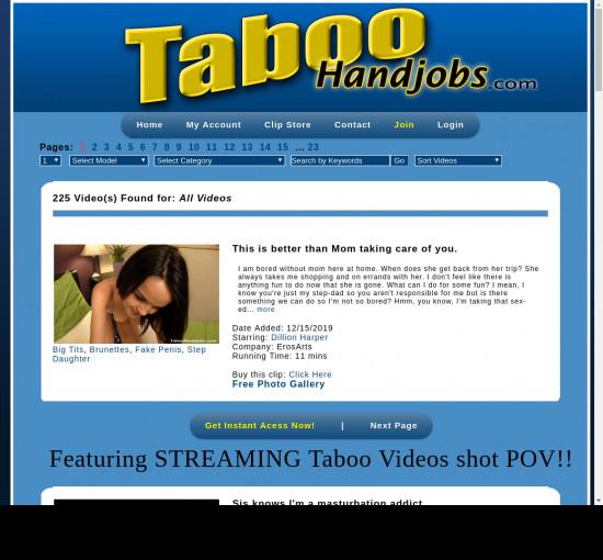 taboo handjobs
