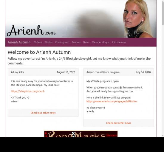 arienh autumn