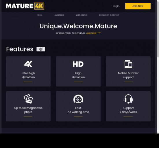 mature 4 k