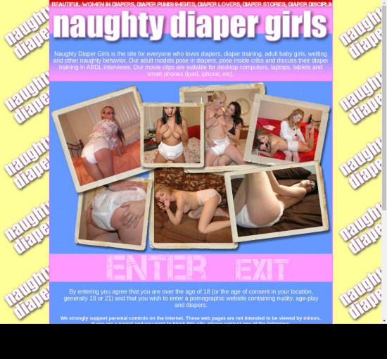 naughty diaper girls