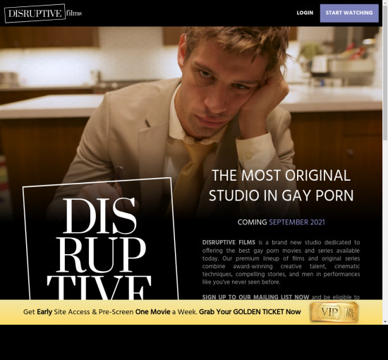 disruptive films